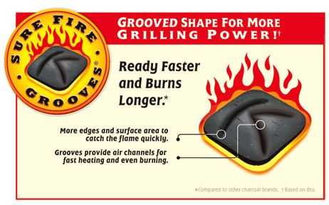 Kingsford sure fire grooves