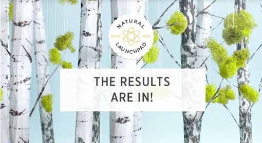 Burt's Bees Natural Launchpad Results Are In