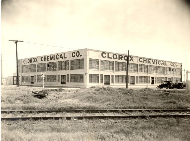 Historical photo of Clorox Oakland Plant